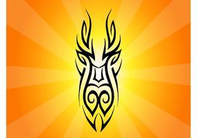 Tribal Mask Clip Art