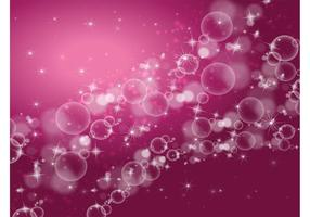 Stars Bubbles Background