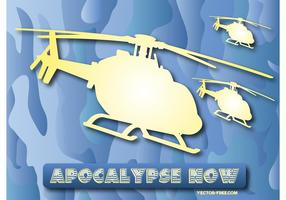 Free Helicopters Vector