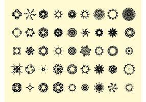 Round Icons Vectors