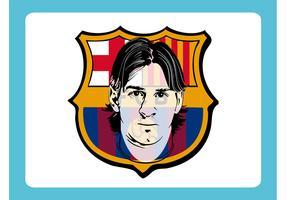 Lionel Messi Vector