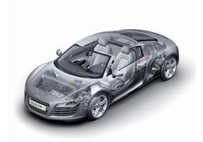 Audi R8 Technology