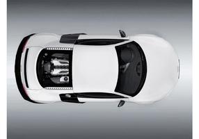 Audi R8 Top View