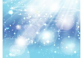 Blue Sparkles Vector