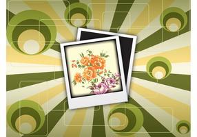 Retro Polaroid Photo Background