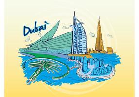 Dubai Travel Graphic