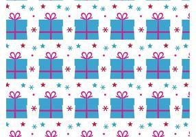 Birthday Present Vector Pattern