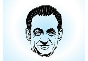 Sarkozy Vector Art
