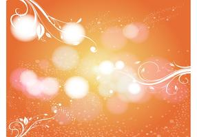 Orange Scroll Background Image