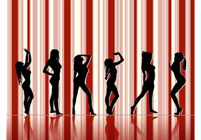 Sexy Models Silhouettes