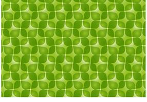Green Retro Vector Pattern