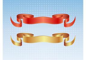 Satin Ribbon Vectors