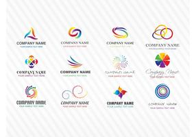 Colorful Stock Vector Logos
