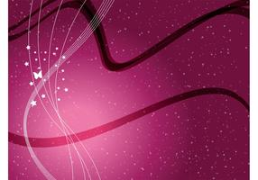 Burgundy Swirls Vector