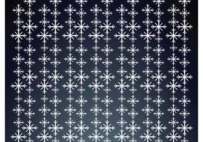 Falling Snowflakes Pattern
