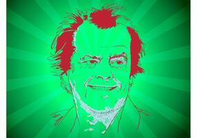 Jack Nicholson Vector