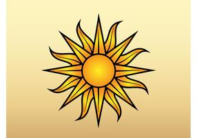 Sun Vector Graphic