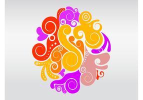 Beautiful Swirls Layout
