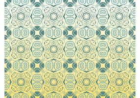 Teal Flower Pattern