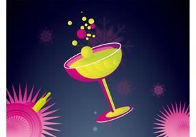 Champagne Illustration