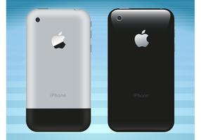 iPhone Back Vector