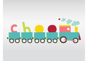 Cute Vector Train