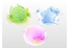 Floral Badges