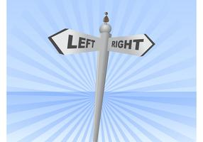 Left Right Sign