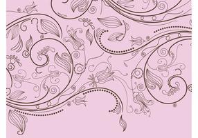 Stylized Floral Pattern