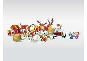 Funny Christmas Characters