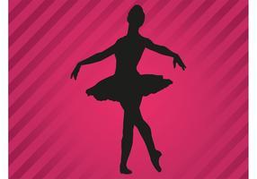 Ballerina Vector Silhouette