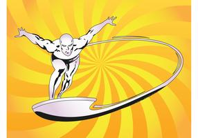Silver Surfer Vector