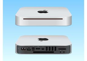 Mac Mini Vector Illustration