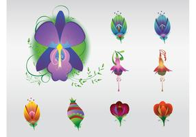 Glossy Flowers