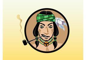 Smoking Indian
