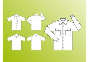 Shirt Templates Vector
