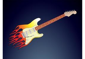 Flames Guitar