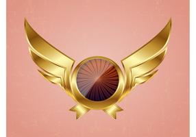 Golden Vector Wings