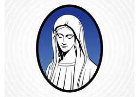 Saint Mary Vector