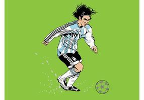 Messi Vector