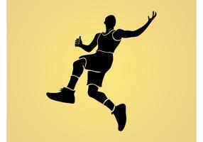 Jumping Man Vector