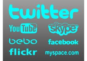 Social Site Logos