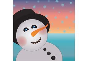 Free Snowman Vector Art