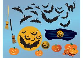 Halloween Night Vectors