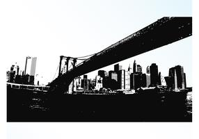 Long Bridge Vector