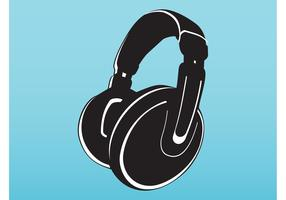 Vector Headphones Illustration