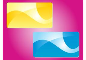 Abstract Colorful Cards