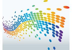 Waving Colorful Vector