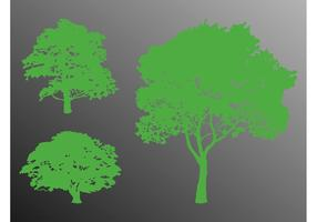 Trees Silhouette Graphics