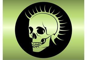 Punk Head Skull